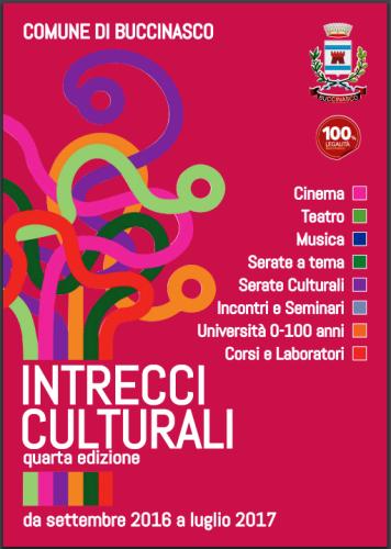 #Buccinasco: intrecci culturali, tutta la programmazione culturale 2016-2017